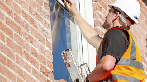 Norse Commercial Services carrying out building maintenance tasks