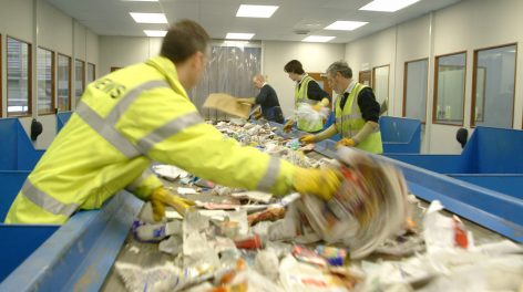 Materials Recycling Facility in Norwich (MRF), waste management