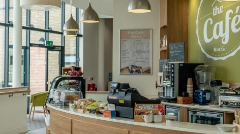 Bowthorpe Care Village's cafe managed by Norse Catering in Norfolk