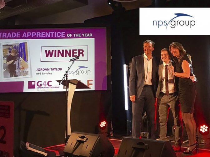 Jordan Taylor - Winner of Trade Apprentice of the Year 2020