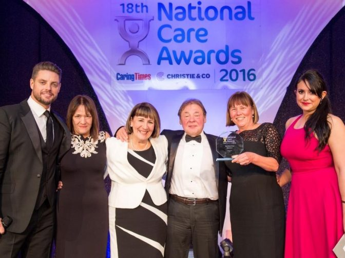 National Care Awards 2016 - NorseCare winners