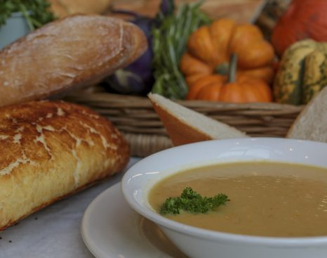 Norse Catering - soup and bread