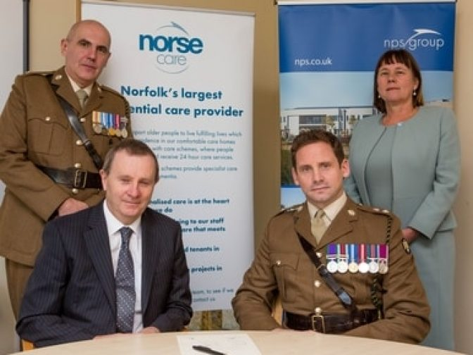 Armed forces covenant signing - Norse Group