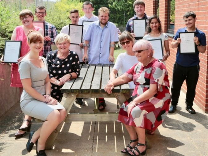 Project Search graduates 2018 - Norse Group