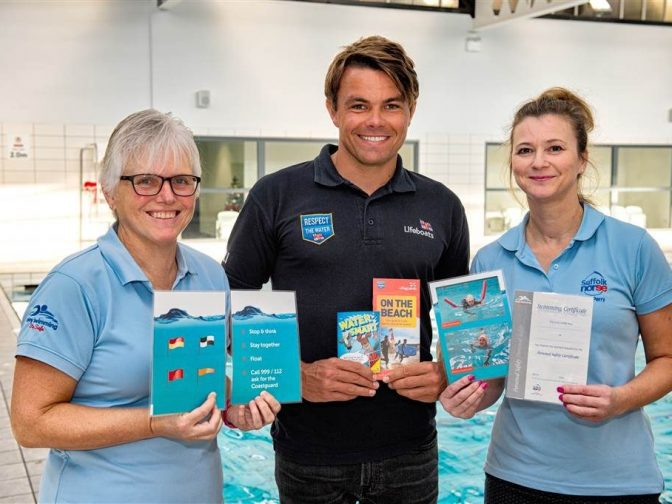 Suffolk Norse - swimming cards launch