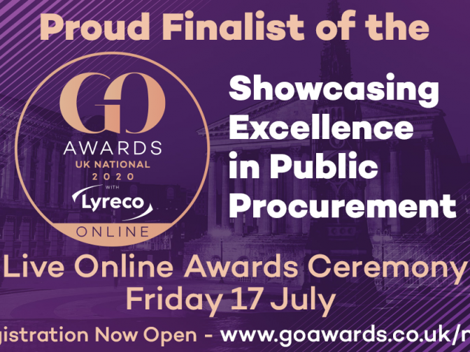 National GO Awards 2020 - finalist