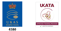 UKAS 4580 and UKATA approved