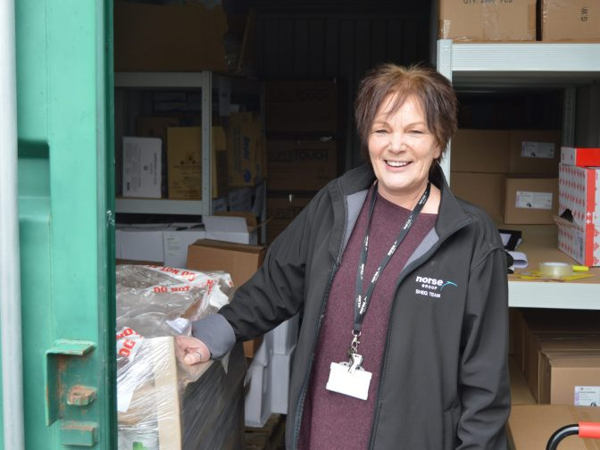 Carolyn Howe – one of our hidden heroes helping to keep our staff safe and protected