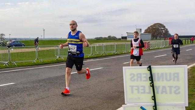 Richard Daws - marathon