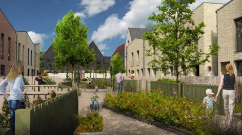 Rayne Park housing, Norwich